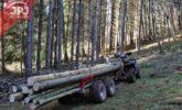 vyvážačka dreva