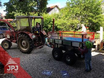 ATV príves Profi-robotník a malotraktor