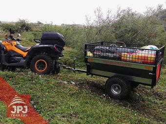 ATV príves záhradník za štvorkolkou