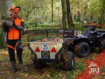 ATV vozík a pracovné štvorkolka