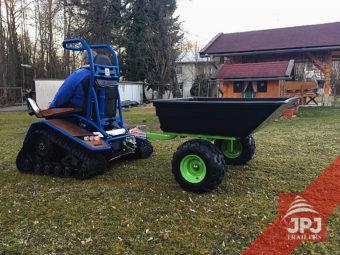 Vozík Pracant za štvorkolky a záhradné traktory