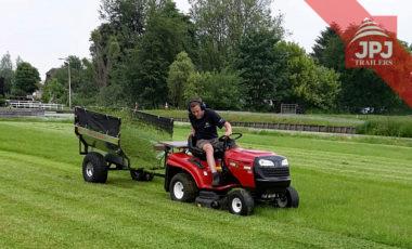 vozík za záhradný traktor