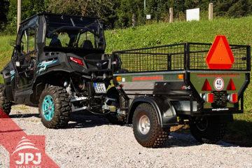 rzr a homologovaný vozíky