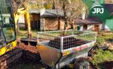 jednonápravový ATV príves Farmár