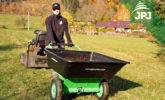 multifunkčný vozík Záhradkár v použití ako klasické koliesko