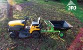 vozík Záhradkár za štvorkolky a záhradné kosačky
