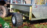 ATV vozík Zahradník - detail kolesa