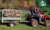 Sklopný ATV príves Zahradník