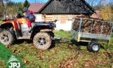 Vozík za štvorkolky Zahradník